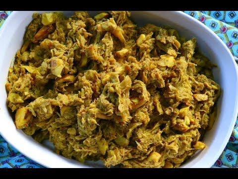 Ultimate Curry Chataigne (breadnut / Katahar) | CaribbeanPot.com  (Vegan + Gluten Free)