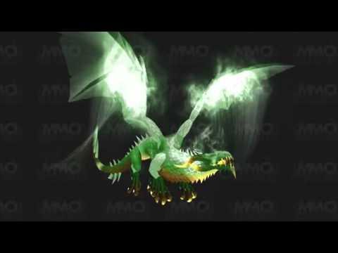 World Of Warcraft - Mist Of Pandaria Flying mount
