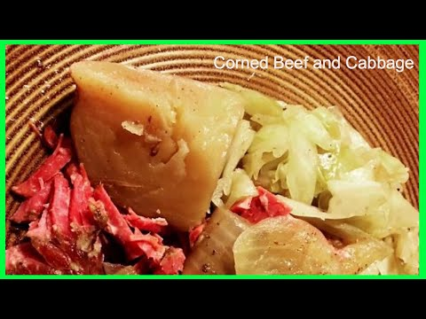 Corned Beef and Cabbage | Slow Cooked with BEER