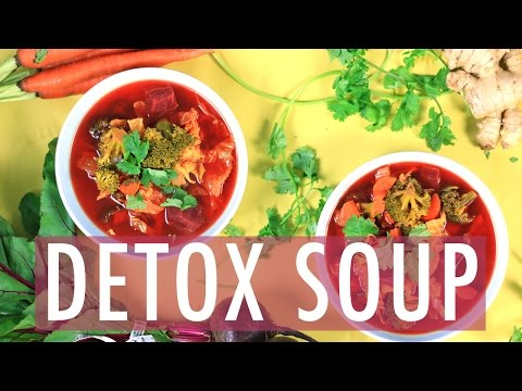 BEST DETOX SOUP   How to Detox for Weightloss