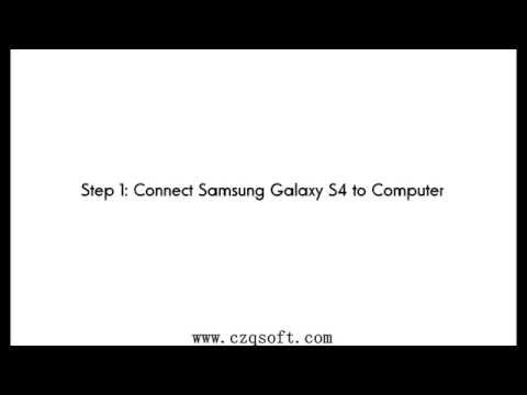 How to Recover Deleted Photos and Videos from Samsung Galaxy S4