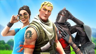 The most handsome Fortnite players win a pro match