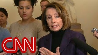 Pelosi: Trump outing our trip made things more dangerous