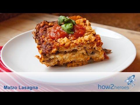 Matzo Lasagna