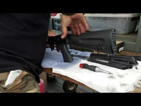 AK Ranch Rifle Magpul Zhukov Stock Installation