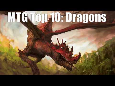 MTG Top 10:  Dragons
