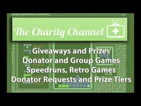 Charity Channel presents Games for Donations a Child's Play Fundraiser
