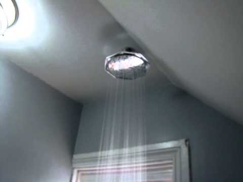 How to: Add a Rainfall Shower head to existing shower in under 1 hour for less then $100
