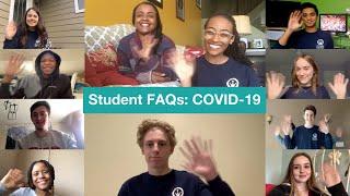 Student FAQs COVID19