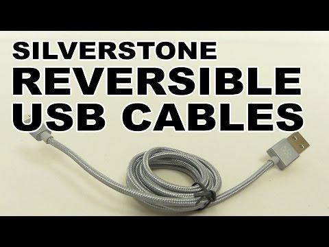 SilverStone Reversible USB Cables (CPU01, CPU02 & CPU03)