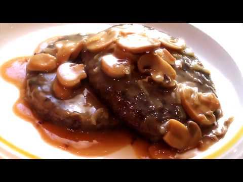 Jollibee Burger Steak with Gravy Recipe | Burger Steak Hack
