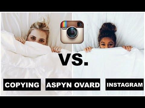 COPYING ASPYN OVARD'S INSTAGRAM FOR A WEEK: COPYING INSTAGRAM PHOTOS FOR A WEEK