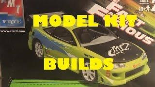 Model kit build: Fast & Furious 1 Mitsubishi Eclipse