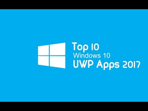 Top 10 Must Have Windows 10 UWP apps for PC and Mobile | Mobile version.