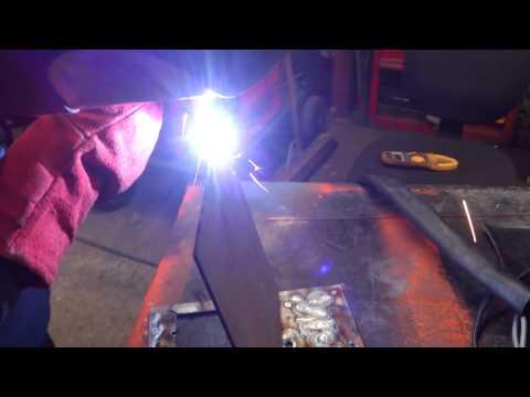 Weld Test for New Arc RT4000 DC TIG & MMA Welding Inverter