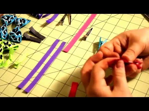 Covering Alligator clips for hair bows