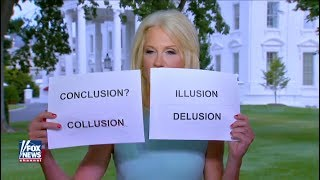 Kellyanne Conway Brings FLASHCARDS TO FOX NEWS LIVE, Instantly Memed | What