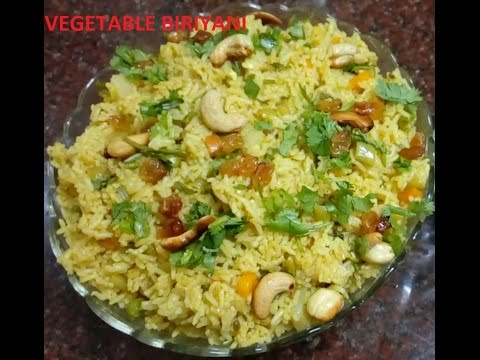 vegetable biriyani (malayalam)