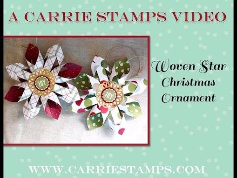 Woven Star Christmas Ornament