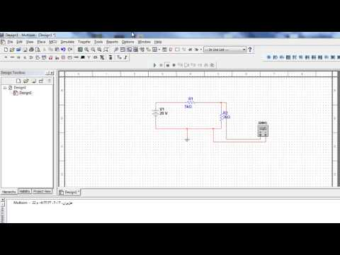 How to use voltmeter and ammeter in multisim