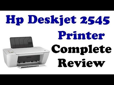 HP DESKJET 2545 - COMPLETE REVIEW