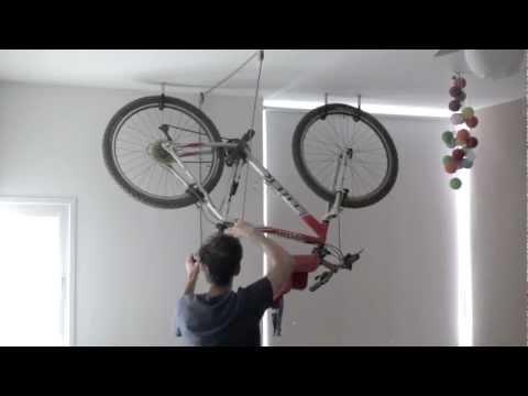 Bike Rack - one minute storage