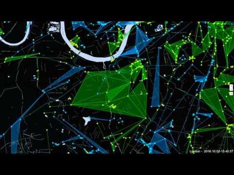 Ingress London 24hr time lapse   02 10 2016