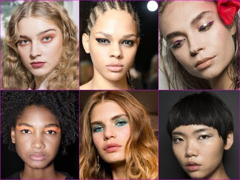 Latest Spring/Summer Beauty and Makeup Trends 2018
