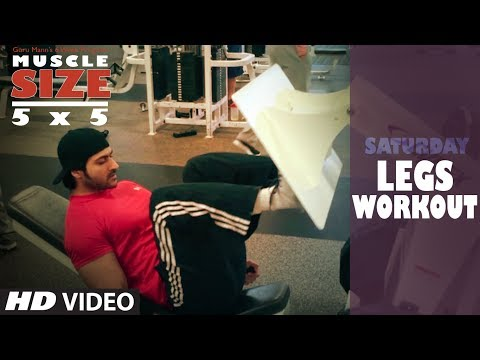 Saturday : LEGS WORKOUT |
