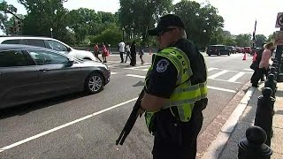 Gunman who opened fire on Republican US lawmakers dies after shootout