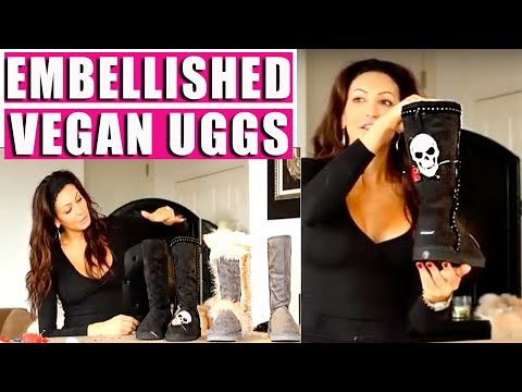 DIY Vegan Ugg Boots Fashion HACK