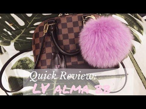 Louis Vuitton Alma BB bag review
