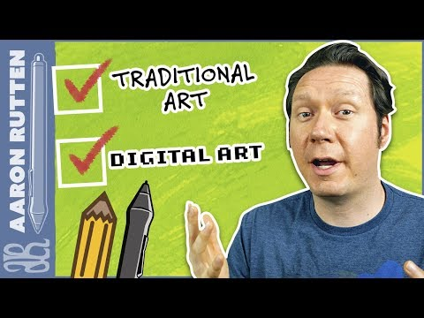 How to be as Good at DIGITAL ART as you are at TRADITIONAL ART