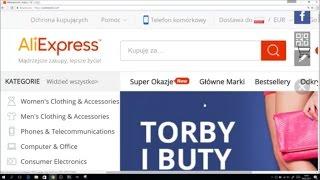 AliExpress Zakupy z Chin - Jak Kupować przez Internet - Krok po Kroku