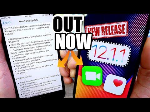 iOS 12.1.1 Is out | everything you need to know