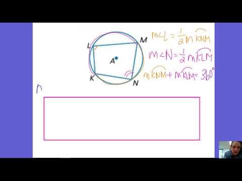 10.4 Inscribed Quadrilateral