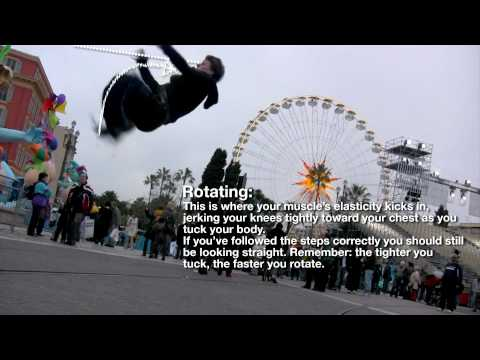 Backflip Tutorial - How to perform a perfect HIGH standing BACKFLIP