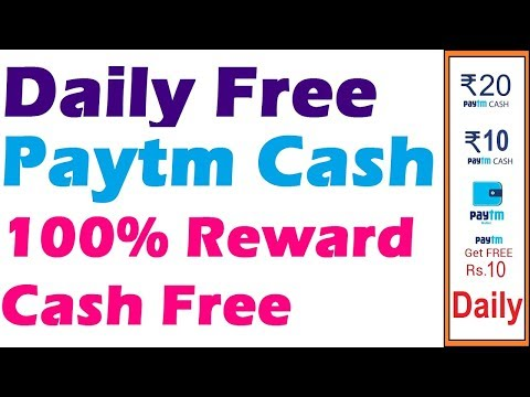 Daily free paytm Cash without Investment