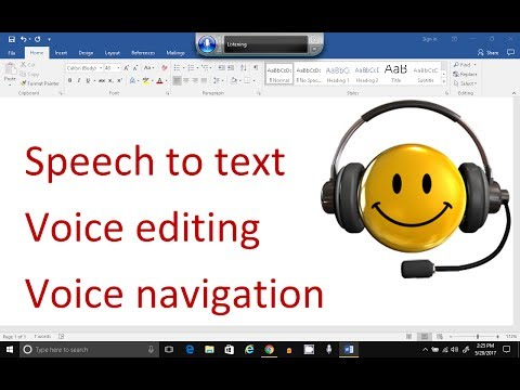 The Best Windows 10 - Speech Recognition Tutorial - Speech To Text, LOTS of Editing Examples!