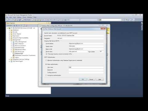 SQL Server Database Mail Configuration