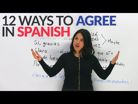 How to agree in Spanish – Top 12 ways