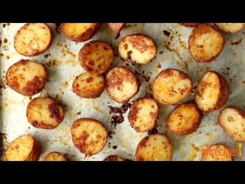 How to Make Oven Roasted Parmesan Potatoes | Potato Recipes | Allrecipes.com