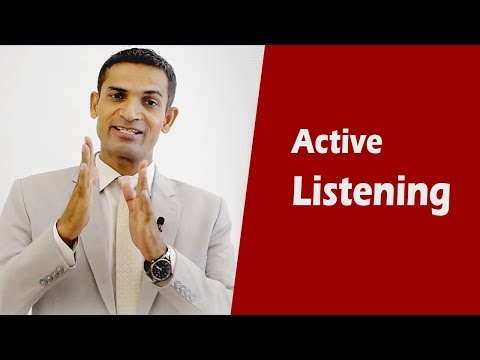 What is Active Listening and how it is important to improve communication skills by M. Akmal