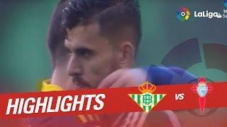 Resumen de Real Betis vs Celta de Vigo (3-3)