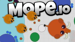 Mope.io -Saber Tooth Tigers and Wooly Mammoths! - Let