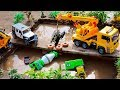 Construction Vehicles Truck Rescue And Assembly Car Toys Crane Excavator For Children