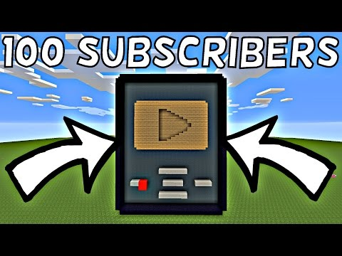 100 SUBSCRIBERS!!! WOODEN PLAY BUTTON!