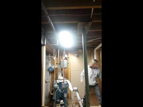 Expansion tank stuck on boiler ...Part #1