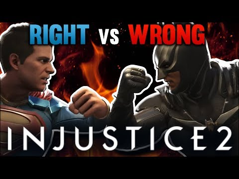 Why Superman Is RIGHT And Batman Is WRONG! Injustice 2 Theory   UNDERLAB