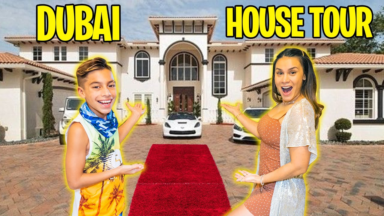 Our FIRST DAY in DUBAI! (HOUSE TOUR)   The Royalty Family